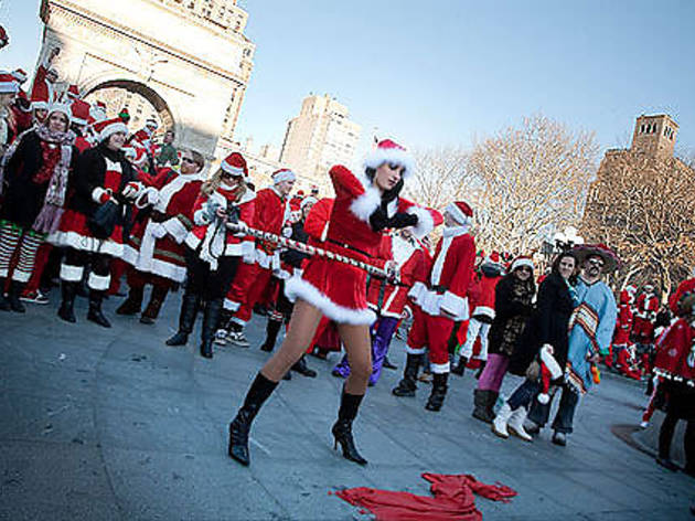 best places to be for santacon this weekend on asembl