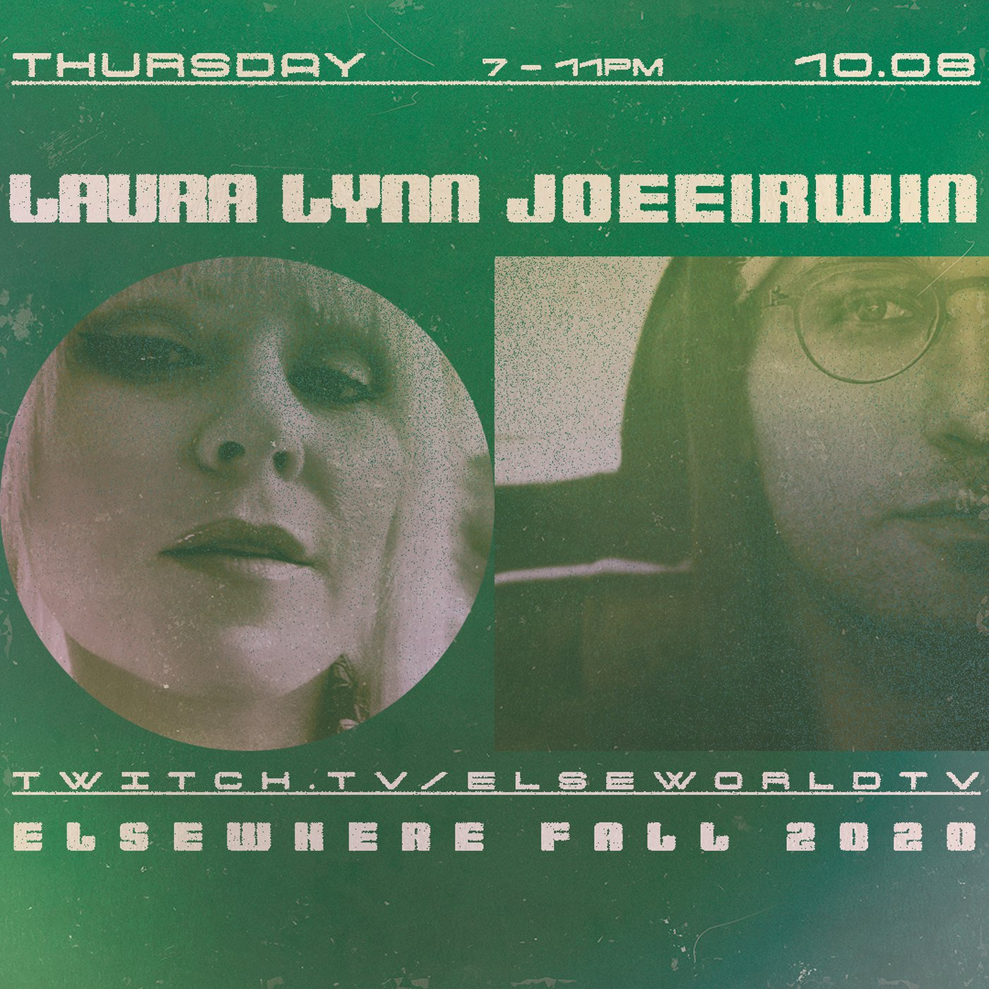 Elseworld TV October 8th with Laura Lynn and JOEEIRWIN